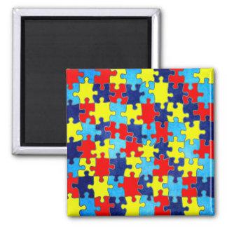 Aimant Conscience-Puzzle d'autisme par Shirley Taylor