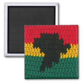 Aimant Copie rouge de crochet de carte de noir de vert