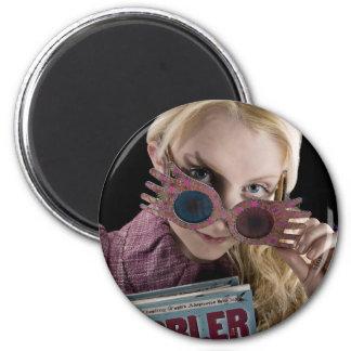 Aimant Coups d'oeil de Luna Lovegood au-dessus des verres