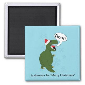 Aimant Coutume de Rex de Tyrannosaurus de Noël