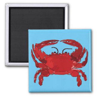 Aimant Crabe bleu bouilli, le Maryland, Louisiane,