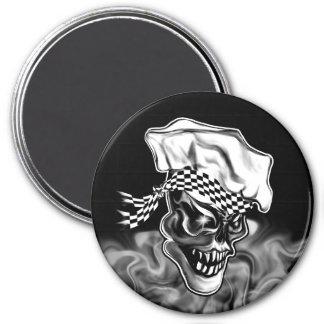Aimant Crâne de tabagisme 5 de chef