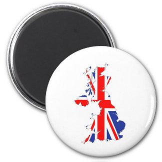Aimant cric britannique des syndicats de symbole de carte