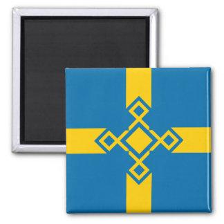 Aimant croisé de la Suède Rune
