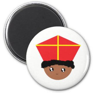Aimant Cutieful badine la mitre Zwarte Piet de