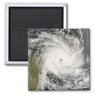 Aimant Cyclone tropical Ivan au-dessus du Madagascar