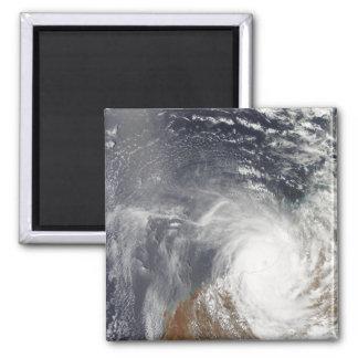 Aimant Cyclone tropical Laurence au-dessus d'Australi
