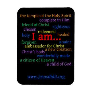 Aimant d'affirmation de bible ! magnet flexible