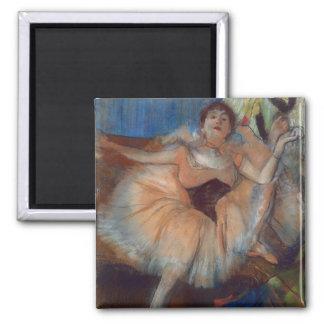 Aimant Danseur assis par | d'Edgar Degas, 1879-80
