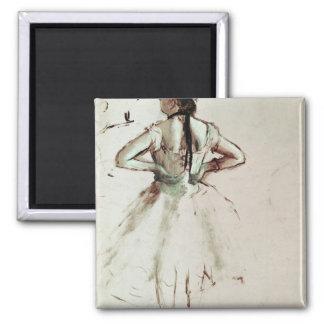 Aimant Danseur d'Edgar Degas | vu du dos