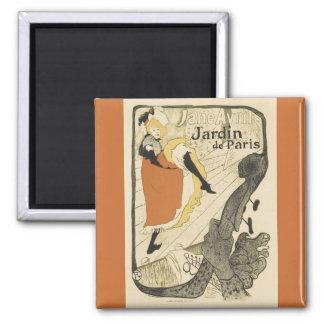 Aimant Danseur Jane Avril, Toulouse Lautrec de Nouveau