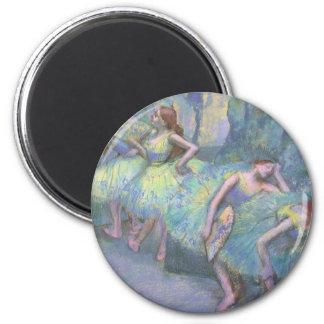 Aimant Danseurs classiques dans les ailes par Edgar Degas