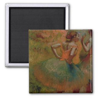Aimant Danseurs d'Edgar Degas | utilisant des jupes de