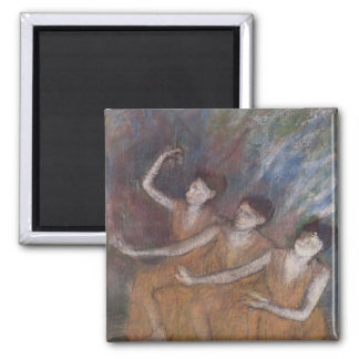 Aimant Danseuses d'Edgar Degas | Trois