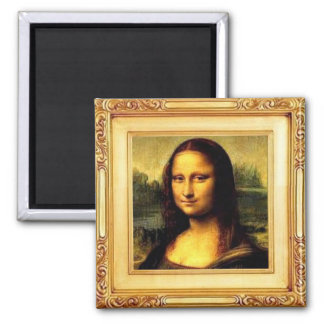 Aimant de beaux-arts - Mona Lisa par Leonardo da
