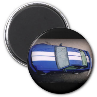 Aimant de bleu de voiture de muscle