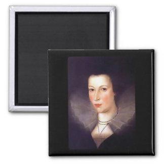 Aimant de carré de comtesse de Mary Cavendish