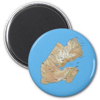 Aimant de carte de Djibouti