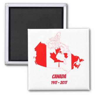 Aimant de célébration du Canada 150