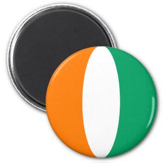 Aimant de drapeau de Fisheye de d'Ivoire de Cote