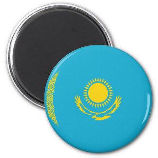 Aimant de drapeau de Kazakhstan Fisheye