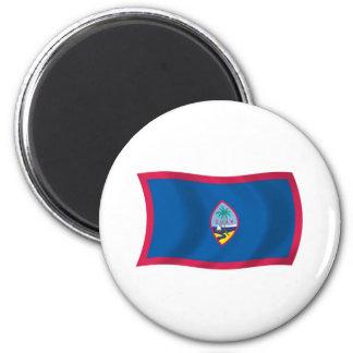 Aimant de drapeau de la Guam