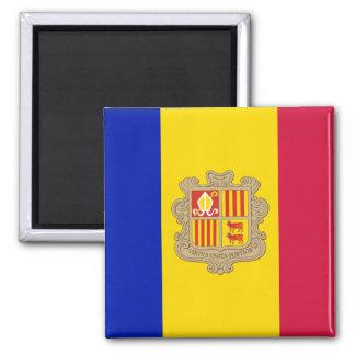 Aimant de drapeau de l'Andorre
