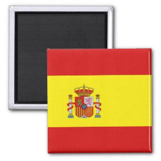 Aimant de drapeau de l'Espagne