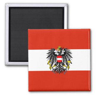 Aimant de drapeau d'état de l'Autriche