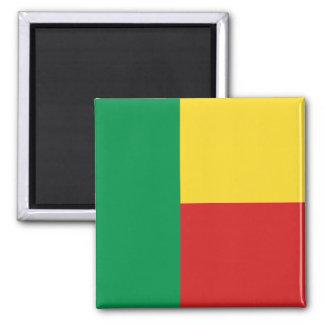 Aimant de drapeau du Bénin