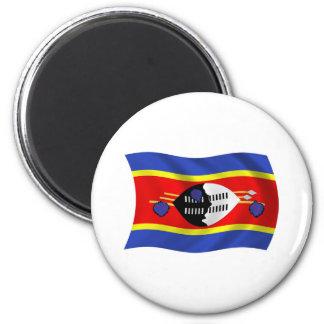Aimant de drapeau du Souaziland