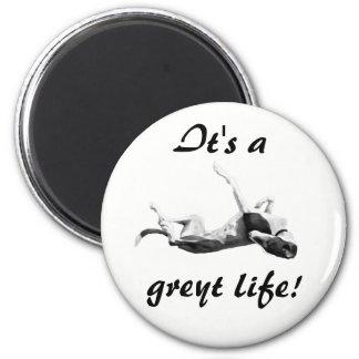 Aimant de lévrier de la vie de Greyt