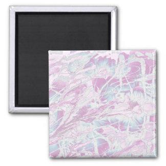 Aimant de marbre rose de motif