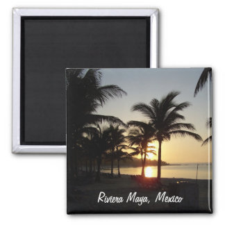 Aimant de mer des Caraïbes de Cancun Mexique de Ma