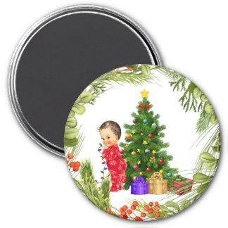 Aimant de Noël de bébé