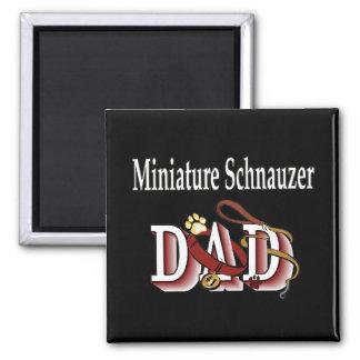 aimant de papa de schnauzer miniature