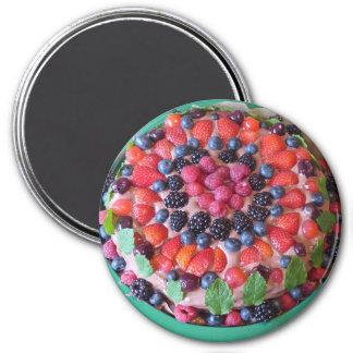 Aimant de réfrigérateur de dessert de tarte de
