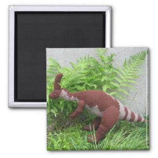 Aimant de réfrigérateur de Parasauralophus