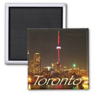 Aimant de réfrigérateur de souvenir de Toronto Can