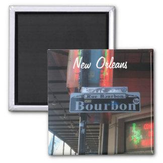 Aimant de rue de la Nouvelle-Orléans Louisiane Bou