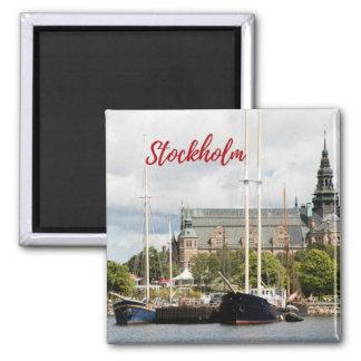 Aimant de souvenir de Stockholm