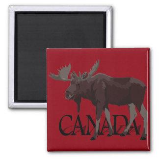 Aimant de souvenir du Canada d'aimant de