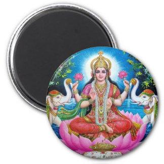 Aimant Déesse de Lakshmi de l'amour, de la prospérité, et