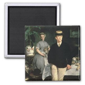 Aimant Déjeuner de Manet | dans le studio, 1868