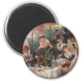 Aimant Déjeuner du cru de partie de canotage - Renoir