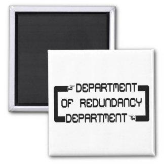 Aimant Département de département de redondance