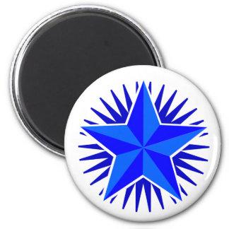 Aimant d'étoile bleue
