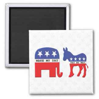 Aimant Différence entre les républicains et les Démocrate