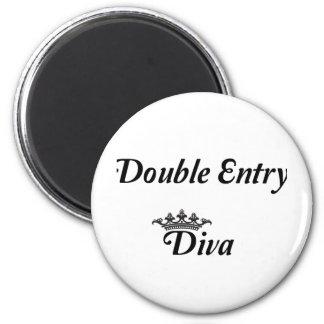 Aimant Diva en partie double