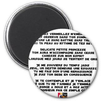 Aimant DORS - Poème - Francois Ville